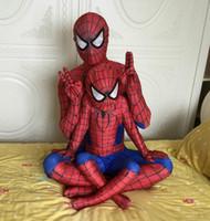 costumes de rôle achat en gros de-2016 New The Avengers Deadpool Cosplay Costumes d'Halloween homme Fantaisie Costumes Slim serré Thème Deadpool Costume Roleplay