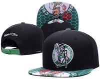 Wholesale Boston Snapback Hats - Hot Selling Men's Women's Basketball Snapback Baseball Snapbacks boston celtic pierce Hats Man Sports Hat Flat Hip Hop Caps Thousands Styles