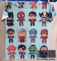 Wholesale Batman Batwing - Track Ship + New Vintage Retro Rock&Roll Punk T-shirt Top Tee We Are Cartoon Heros Hero Batman Spiderman Super 0218