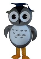 Wholesale Owl Mascot Cartoon - New Arrival Owl with Doctorial Hat Mascot Costume Cartoon Costume