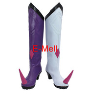 Wholesale Yellow Costume Boots - Wholesale-FATE Extra CCC Erzsebet Bathory Boots Cosplay Women's shoes Custom Made Halloween High Quality