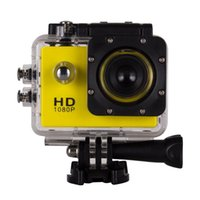Wholesale Waterproof Digital Mini Camera - 1080P Waterproof Sports Camera SJ4000 SJ5000 Style A9 HD Action Camera Diving 30M 2.0LCD 140° View Mini DV DVR digital Camcorders