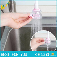 Wholesale Mouth Shower - New RL Rotary water valve anti splash tap water filtration mouth valve economizer kitchen bathroom shower faucet water-saving device