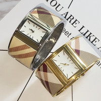 Wholesale Ladies White Gold Bangle - 2017 New women watch lady luxury bangle watch Gold Color silver Bracelet wristwatch quartz clock female brand lady watch Free shipping