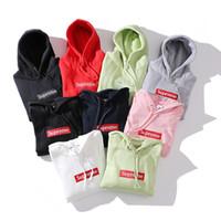 Wholesale Men S Designer Suits - New designer hoodie autumn winter for men women's warm off white hoodies sweatshirt palace Harajuku streetwear track suit mens hip hop Pink