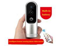 Wholesale Pir Ir Camera - New WiFi smart doorbell camera HD 960P PIR human induction doorcam IR day night vision alarm security camera wireless PIR doorbell