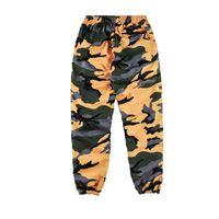 Wholesale Camouflage Sweatpants Women - vetements 2018ss brand new hiphop sup Camouflage jogging Sweatpants casual box logo printing Men women Joggers feet Pants track pants S-XL