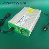 Wholesale Electric Bicycle Battery 24v - YZPOWER 29.2V 14A 13A 12A Smart Intelligent LifePO4 Battery Charger For 24V Electric Scooter Bicycle Ebike Wheelchair Battery Carregador De