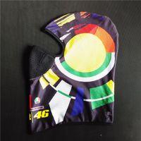 Wholesale Mask Moto - New MOTO GP VR46 Rossi Motorcycle Face Mask Dustproof The Doctor Balaclava Motorbike Helmet Headwear
