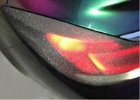 Wholesale Auto Tint Roll - 25 rolls 0.3m*10m roll Auto Flash point Car Sticker Smoke Fog Light HeadLight Taillight Tint Vinyl Film Sheet AAA