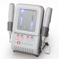 casa de microcorriente al por mayor-2017 Corea 2 en 1 máquina de rf microcurrent uso en el hogar equipo de rejuvenecimiento facial equipo CE aprobación