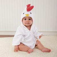 Wholesale Boys Pyjamas - Kids Pajamas Sleepwear for Girls Boys Pyjama Winter Cartoon Clothing Bathrobe Children Robe Toddler Clothes Animal Nightgowns New
