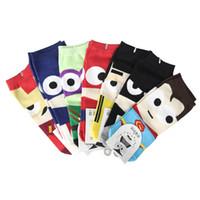 Wholesale Hand Knitting Socks - GOLD HANDS New Arrival Socks Style Sport Socks Cotton Print Pirate Socks Retail Carton Free Shipping Stockings