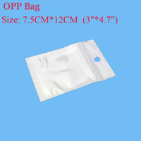 Wholesale 7 cm cm quot quot Clear White Pearl Plastic Poly OPP Packing Zip Lock Retail Packages Jewelry Food Plastic Bag