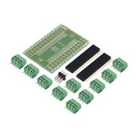 arduino erweiterungskarten groihandel-Erweiterungskarte Terminal Adapter DIY Kits für Arduino NANO IO Shield V1.0