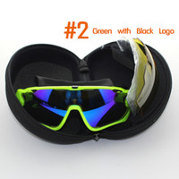 Wholesale New Gafas Cycling Eyewear Goggles Lens Polarized UV Cycling Sunglasses Bicycle Glasses Tour De France Eyewear Ciclismo Lunette