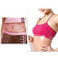 Wholesale Thigh Slimming Wraps - Sauna Slimming Waist Tummy Belly Belt Wrap Thigh Calf Lose Weight Body Shape Up Slim Belt Bodyshaper Free Shipping