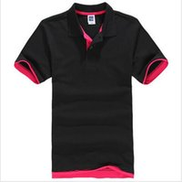 Wholesale Wholesale Browns Jerseys - Wholesale-New Brand Men's PoloS Shirt For Men Polos Men Cotton Short Sleeve shirt sports jerseys golf tennis Plus Size S - 3XL