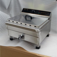Wholesale Electric Frying Fries - Electric fryer big tank frying oven_stainless steel deep fryer 20L Commercial Countertop Deep Fryer reliable quality