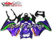 Wholesale Eva Ninja - Motorcycle Fairings For Kawasaki EX-250R EX250R Ninja 250 08-12 2008 2009 2010 2012 ABS Injection Motorcycle Fairing Kit Eva Facing Purple