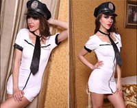 Wholesale Loading Sexy Play - The new nightclub sexy ladies temperament policewoman uniforms stewardess loading costume playing game uniforms free shipping
