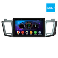 10.2 pollici Toyota RAV4 2011-15 Quad Core 1024 * 600 Android Car GPS Navigation Multimedia Player per Radio Wifi