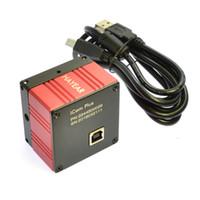 microscópio digital industrial venda por atacado-Freeshipping 5.0MP HD Zoon C-MONTAGEM USB Digital Microscópio Industrial Camera Microscópio de medição Medição 1 / 2.5