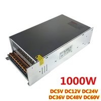 Wholesale Dc 48v - Power Supply DC 48V 20A 1000w Led Driver Transformer AC110V 220V Power Adapter for DC48V strip to CNC lamp CCTV