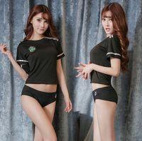 Wholesale cosplay adult pajamas online – ideas Hot Sale Sexy Lingerie Porno t Erotic Cosplay Student Uniforms Women Sexy Black Underwear Girl Pajamas Set Adult Porno Games