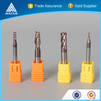 Wholesale Tungsten Carbide Cutter Wholesalers - Avatar Tools 2 Flute HRC 45 Tungsten Solid Carbide End Mill Cutters