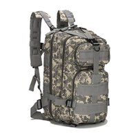 Wholesale tactical climbing pack - Molle 3P Tactical Backpack For Outdoor Hiking Camping Hunting Climbing Assualt Pack Rucksack Bag High Quality.