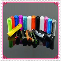 Wholesale Free E Covers - 18650 Battery Cover Silicone Protective Cover Case Colorful Soft Rubber Skin Protector For E Cig 18650 Batteries DHL Free
