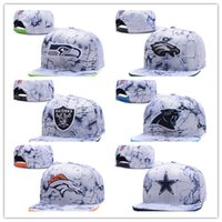 Wholesale High Quality Baseball Caps - Wholesale 2016 high quality Sport Cap Team Basketball Snapback Adjustable Baseball Football Hat Caps Women Men's Fitted Hat Accept free ship