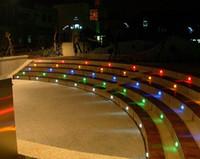садовый центр оптовых-Новый 6 шт. палуба свет алюминиевый светодиодный подземный свет 24 мм сад Mall шаг лестницы пейзаж светодиодные фонари низкого напряжения IP67 лампы трансформатор