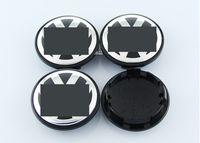 Wholesale Vw Center Caps - 4pcs Set Volkswagen Car Wheel Accessories Black Blue 56mm 65mm 70mm 76mm VW Car Wheel Center Hup Cap Emblem Logo Decals Stickers