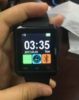 Wholesale Waterproof Android Gps - Bluetooth Smart Watch U8 Watch Wrist Smartwatch for iPhone 5S 6 6S 6 plus 7 7s 8 Samsung S6 S7 Note 4 Note 5 HTC Android Phone Smartphones