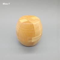 kong ming puzzle al por mayor-Adulto Reensamblar Cubo de madera Rompecabezas Juguete Desbloquear Cerveza Barril Rompecabezas Kong Ming Lock
