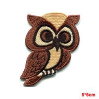 Eule Raubvogel Schrei Tier Wildlife Applique Eisen-on Cartoon Kind Patch neue