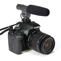 Wholesale Microphone Slr - 100% Shenggu SG-108, Directional Stereo Shotgun Microphone SG108 for CAN&N NIK&N PENTAX OLYMPUS PANASONIC D-SLR and Camcorder DV