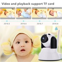 Wholesale Baby Speaker Monitor - ILIKEE IP WiFi Wireless Baby Security Monitor - Mini Rotatable Smart Network Camera - 720P HD Cctv Camera Build-in MIC and Speaker