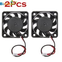 ECOSIN 2pcs 12V Mini Kühlung Computer Fan - Kleine 40mm x 10mm DC Brushless 2-pin JAN31