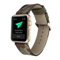 Wholesale genuine apple accessories - New Denim band for apple watch Leather strap for iwatch 38mm 42mm genuine leather band classic design With adapter Accessories