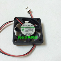 Wholesale 6mm Bearing - SUNON KDE0503PEV3-8 slim 6mm thickness 3006 DC5V 0.35W 0.07A magnetic mini fan