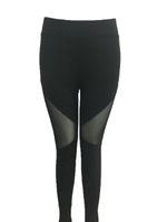 Wholesale Gauze Pants For Women - Hot sale women's PANTS for The new fast dry gauze side triangle mesh slim Yoga Yoga Pants 2010