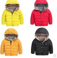 Wholesale Childrens Down Jackets - Wholesale-2016 new childrens clothing boys down jacket parka big boy jacket long sections clearance genuine thick boy winter warm jackets