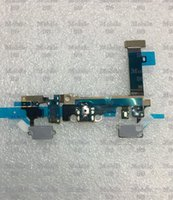 Wholesale Earphone Jack Usb Port - 2016 10pcs For Samsung Galaxy A7 A7100 USB Port Charging Flex Cable Microphone Earphone Jack Free shipping