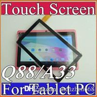 "Wholesale Q88 Digitizer - OEM Front Touch Screen Glass Digitizer Replacement For Q88 Allwinner A13 A23 A33 ATM7021 ATM7029 7 inch 7"" Tablet PC C-TP"