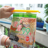 Wholesale Rod Bags - 100sets New Arrival Magic Bag Sealer Stick Unique Sealing Rods Great Helper For Food Storage Sealing cllip sealing clamp clip