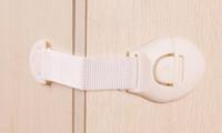 bebek güvenlik kapı kilitleri toptan satış-Bebek Ürünleri Güvenlik Kilitleri Çekmece Kilidi 3 M Tutkal Çocuk Dolap Kapı Kilidi Çok fonksiyonlu Genişletilmiş Kilit Tek Parça Ambalaj