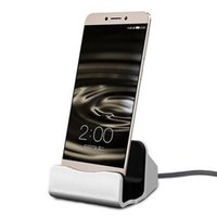 Wholesale Pc Docking Station - Newest Charger Docking Stand Station Cradle Charging Sync Dock for iPhone 6 6S 6Plus I7 plus or for samsung htc android phone pc